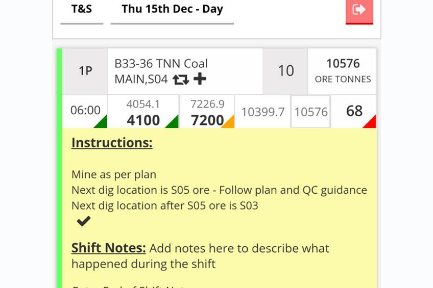 Short Interval control mining